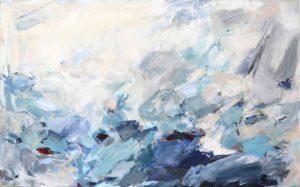 abstrakte acrylmalerei - lichtfeld - katja gramann