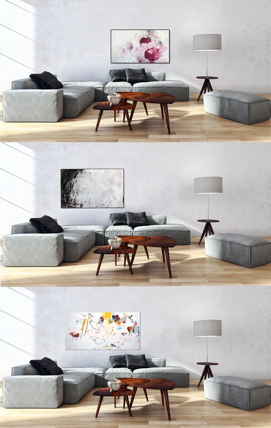 Moderne Kunst für edles Interior