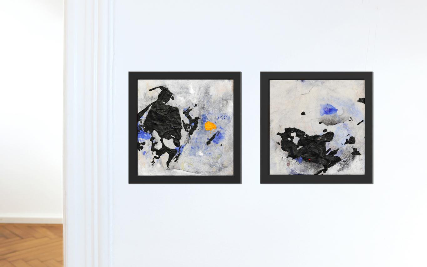 Tagwerke 48 & 49 in der virtuellen Ausstellung in der Galerie Scheytt in München