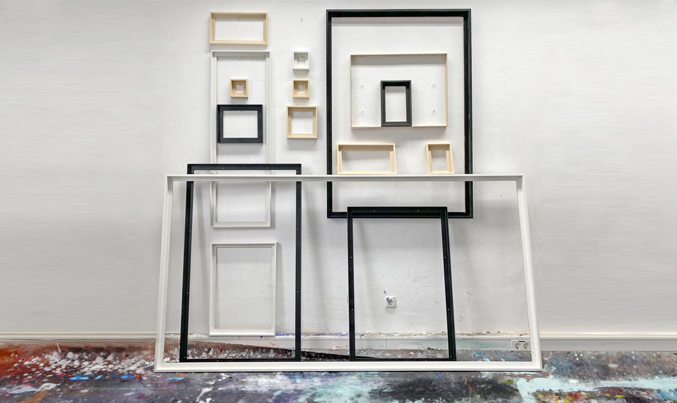 Den richtigen Rahmen für Kunstwerke finden